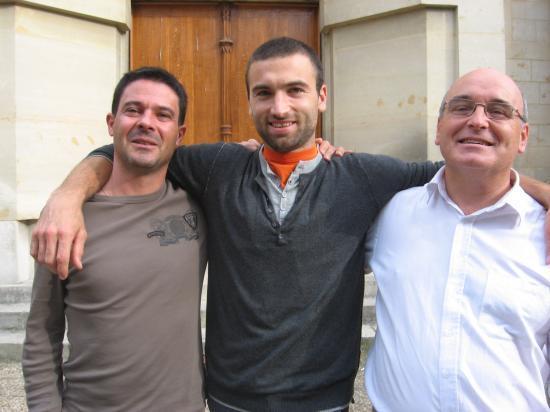 Dominique, Mael et Yves